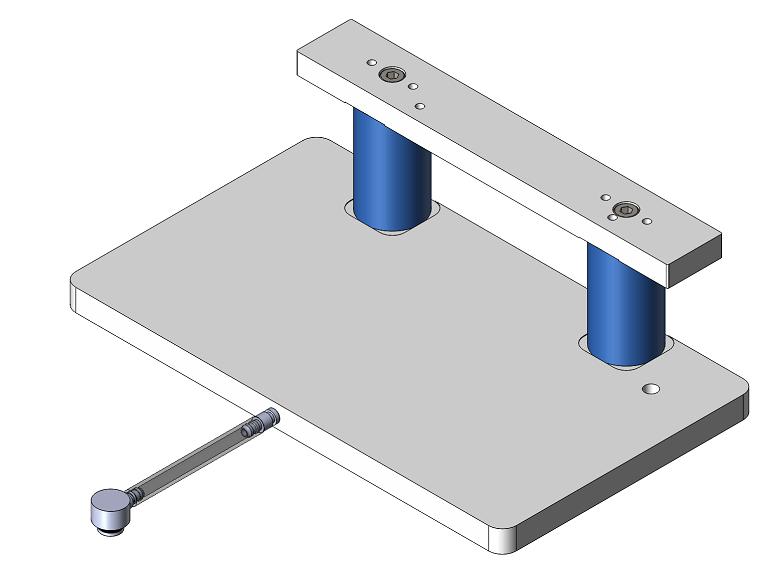 Manual Lead Plate Base